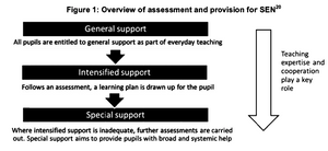 Finnish Special Education 3 Levels/Tiers of Support (Caroline Perry & Jake Wilson, 2015)