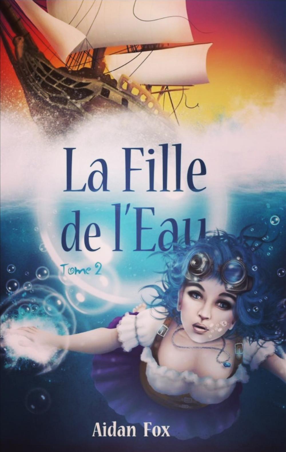 Second tome de la saga  «La Fille de l'Eau» d'Aidan Fox