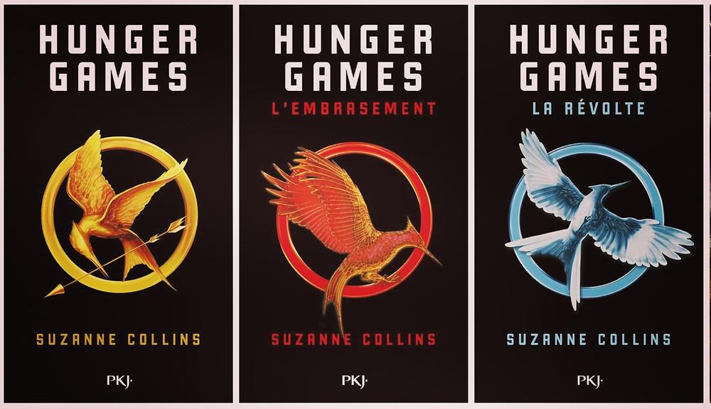 Trilogie des Hunger Games de Suzanne Collins