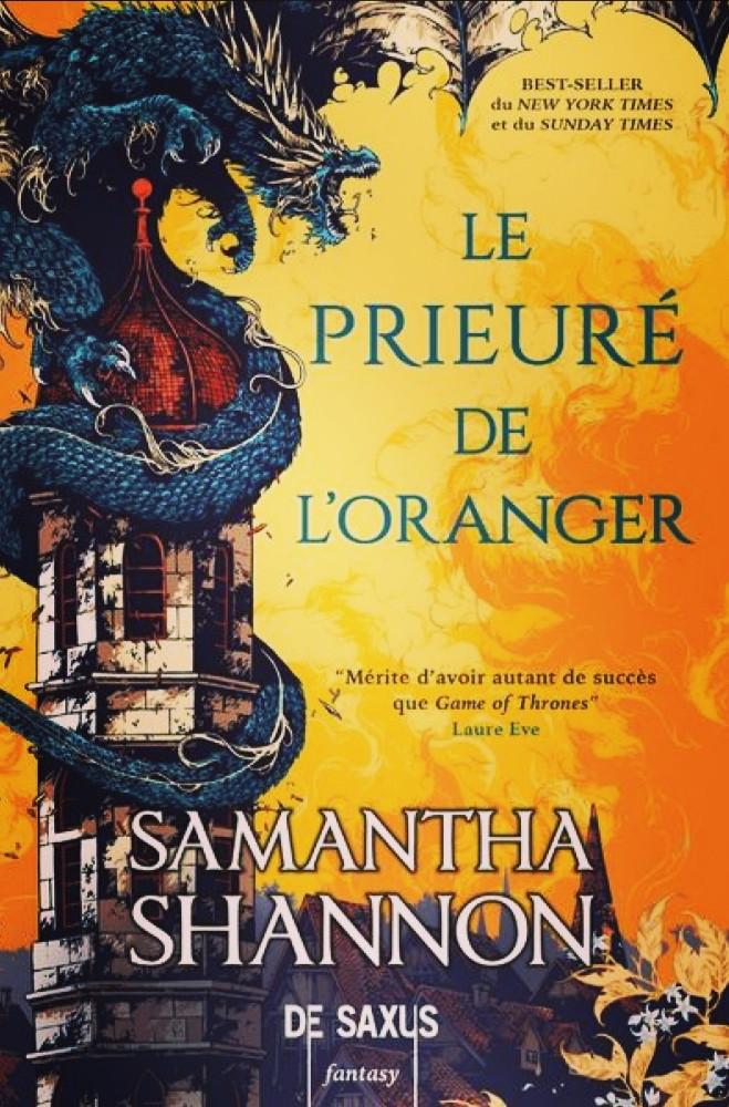 Roman «Le Prieuré de l'oranger» de Samantha Shannon