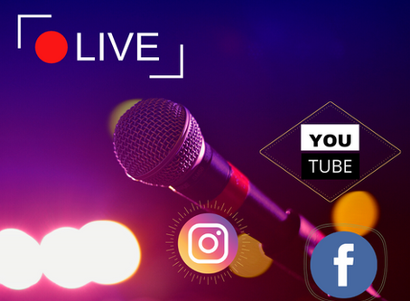 Transmissões ao vivo (LIVEs) como instrumento de captação de recursos