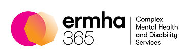 ermha365 logo with tagline Complex Mental Health and Disability Services