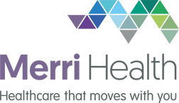 Merri Health logo with tagline Healthcare that moves with you