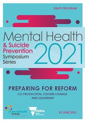 Program for the Preparing For Reform mental health symposium