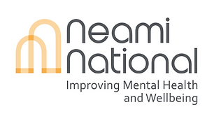 Neami National logo with tagline Improving Mental Health and Wellbeing