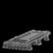 dispositivo JIG para fixação e solda de chassi underframe
