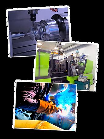 Fabricación, mecanizado y más.