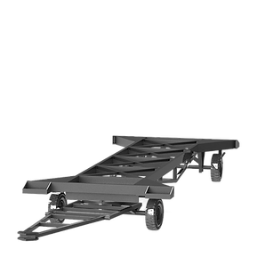 carreta transportadora de chassi inderframe
