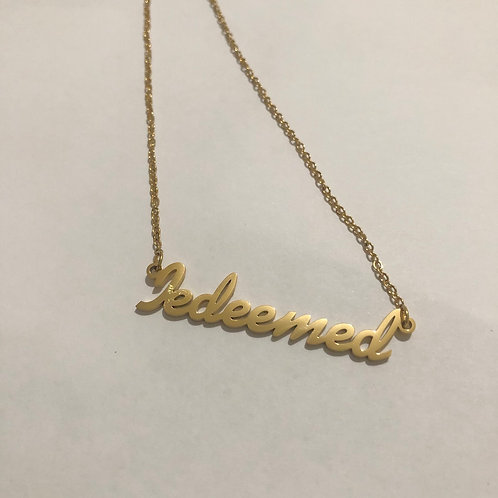 Redeemed Necklace