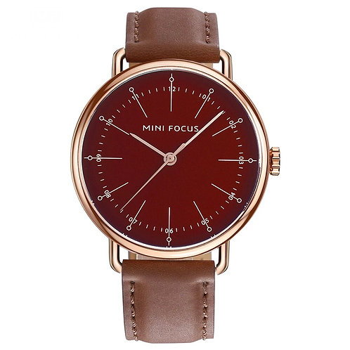 Leather Wristwatch MF 004