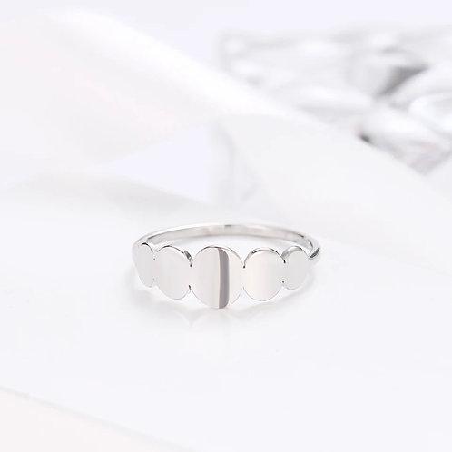 April Ring | Silver