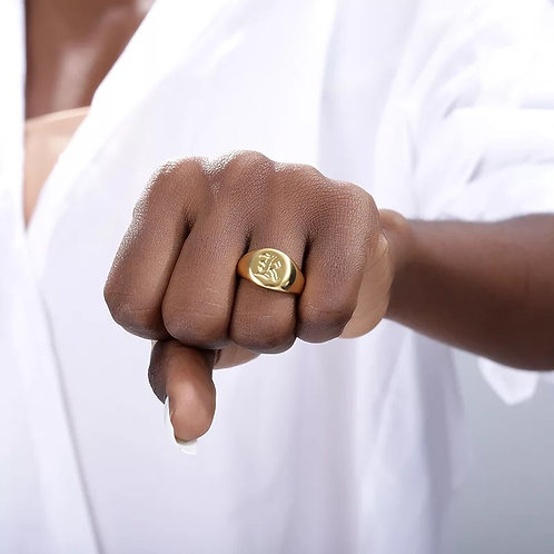 Initial Ring | Size 6.5