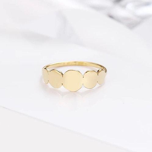 April Ring | Gold