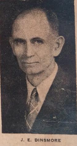 J. E. Dinsmore - 1940