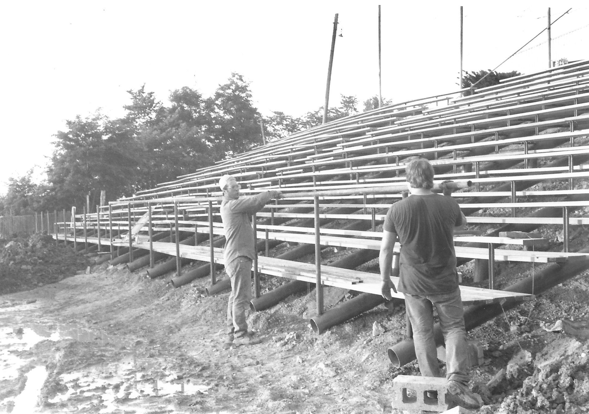 Jacktown Fair New Upper Grandstands