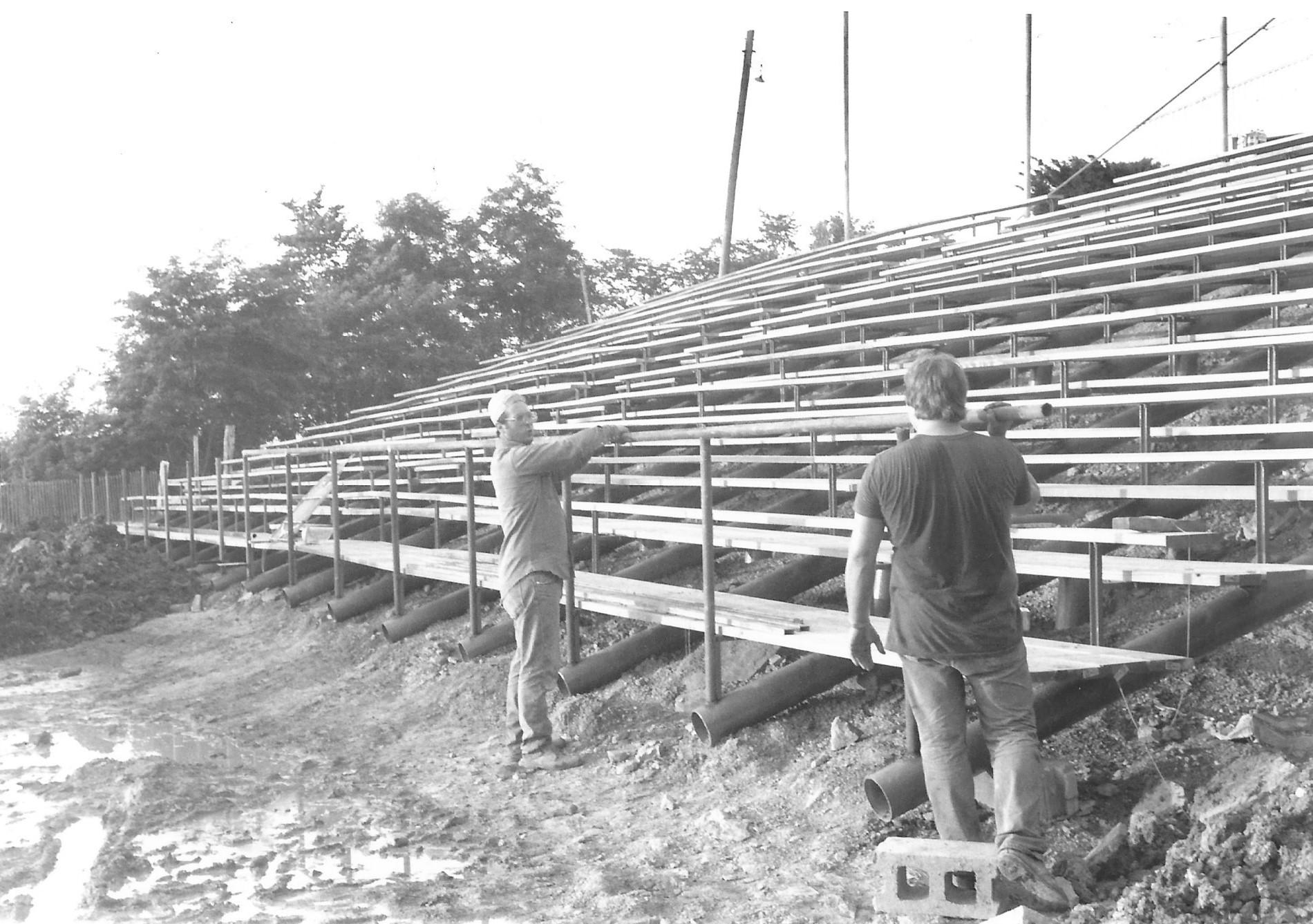 Jacktown Fair New Upper Grandstands