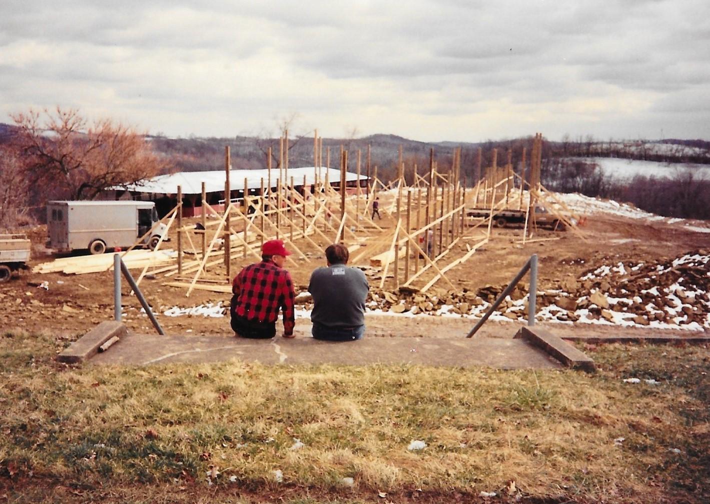 Jacktown Fair New Barns Construction