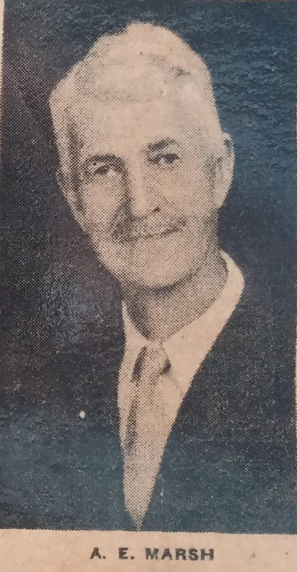 A. E. Marsh - 1940