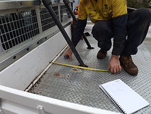 Tradie measure ute tray
