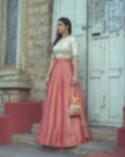 Designer Lehenga Nihira - The Couture House