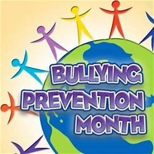 October is National Bullying Awareness Month!