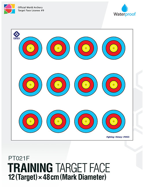 TRAINING TARGET FACE 48×12