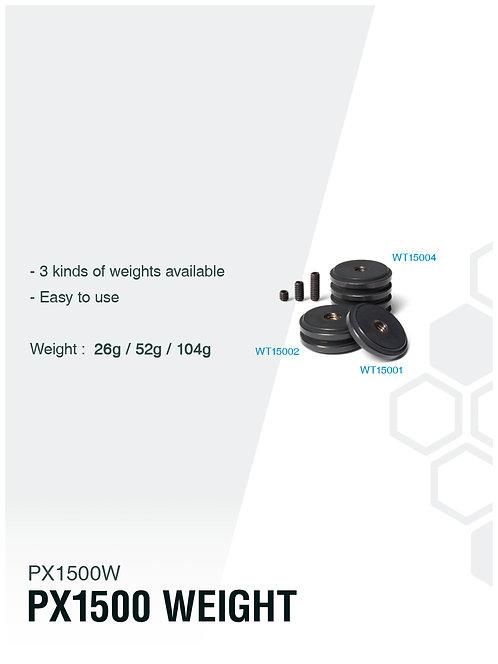 [WEIGHT] PX1500WEIGHT