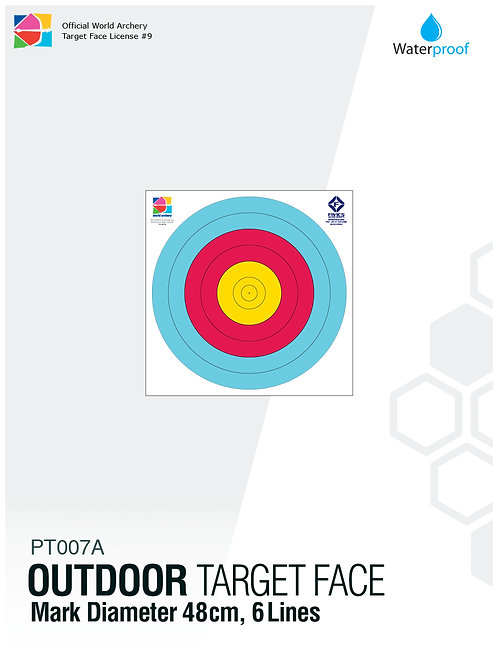 OUTDOOR TARGET FACE 48(6R)