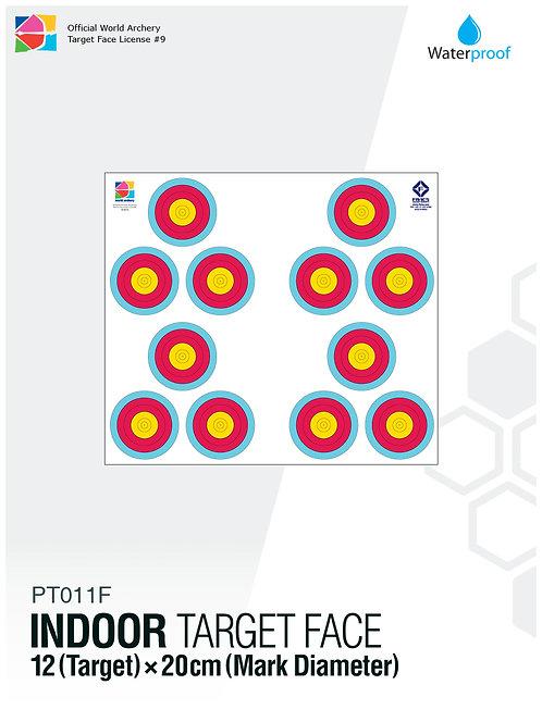 INDOOR TARGET FACE 20×3×4