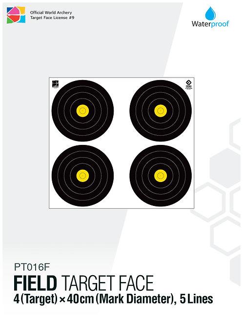 FIELD TARGET FACE 40×4