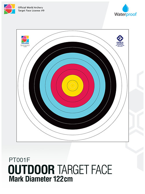 OUTDOOR TARGET FACE 122