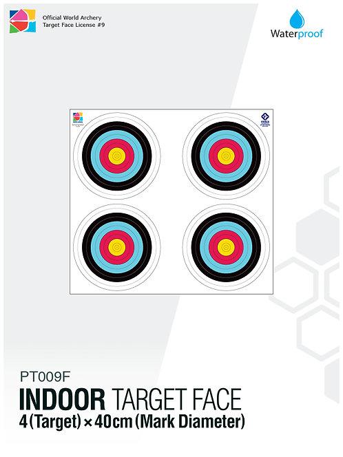INDOOR TARGET FACE 40×4