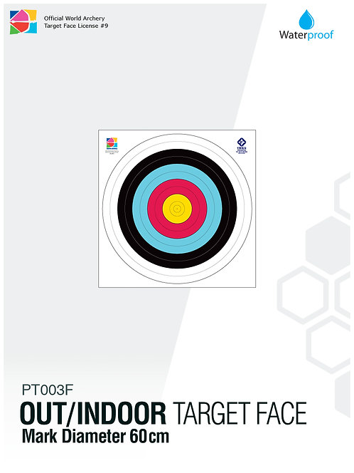 OUT/INDOOR TARGET FACE 60