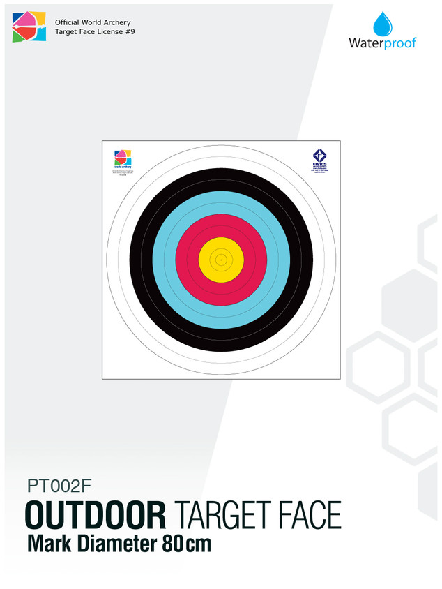 OUTDOOR TARGET FACE 80