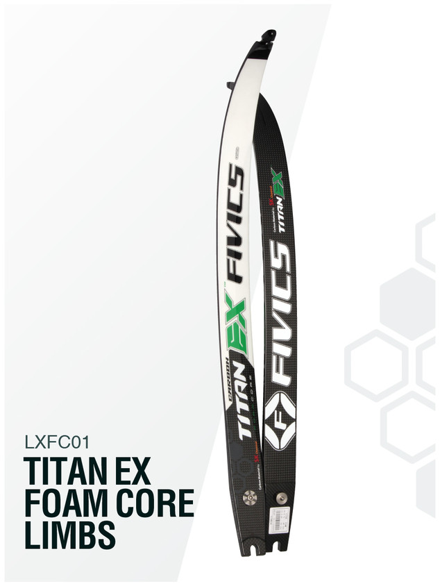 TITAN EX FOAM CORE LIMBS