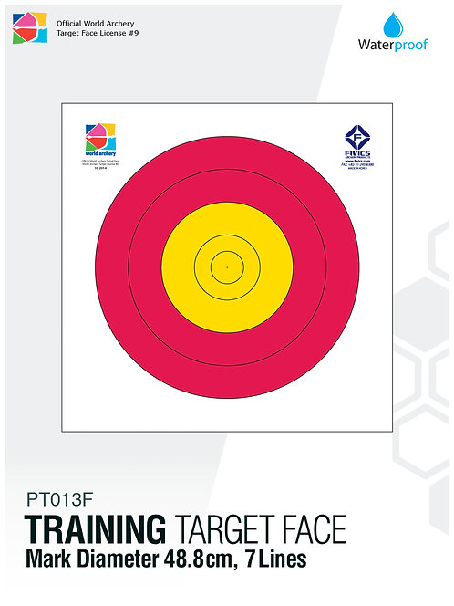 TRAINING TARGET FACE 48.8