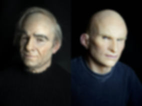 Custom design realistic silicone mask
