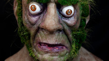 Realistic Silicone Mask Swamp Monster by The Masker Studio
