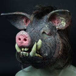 Custom design silicone mask BOAR