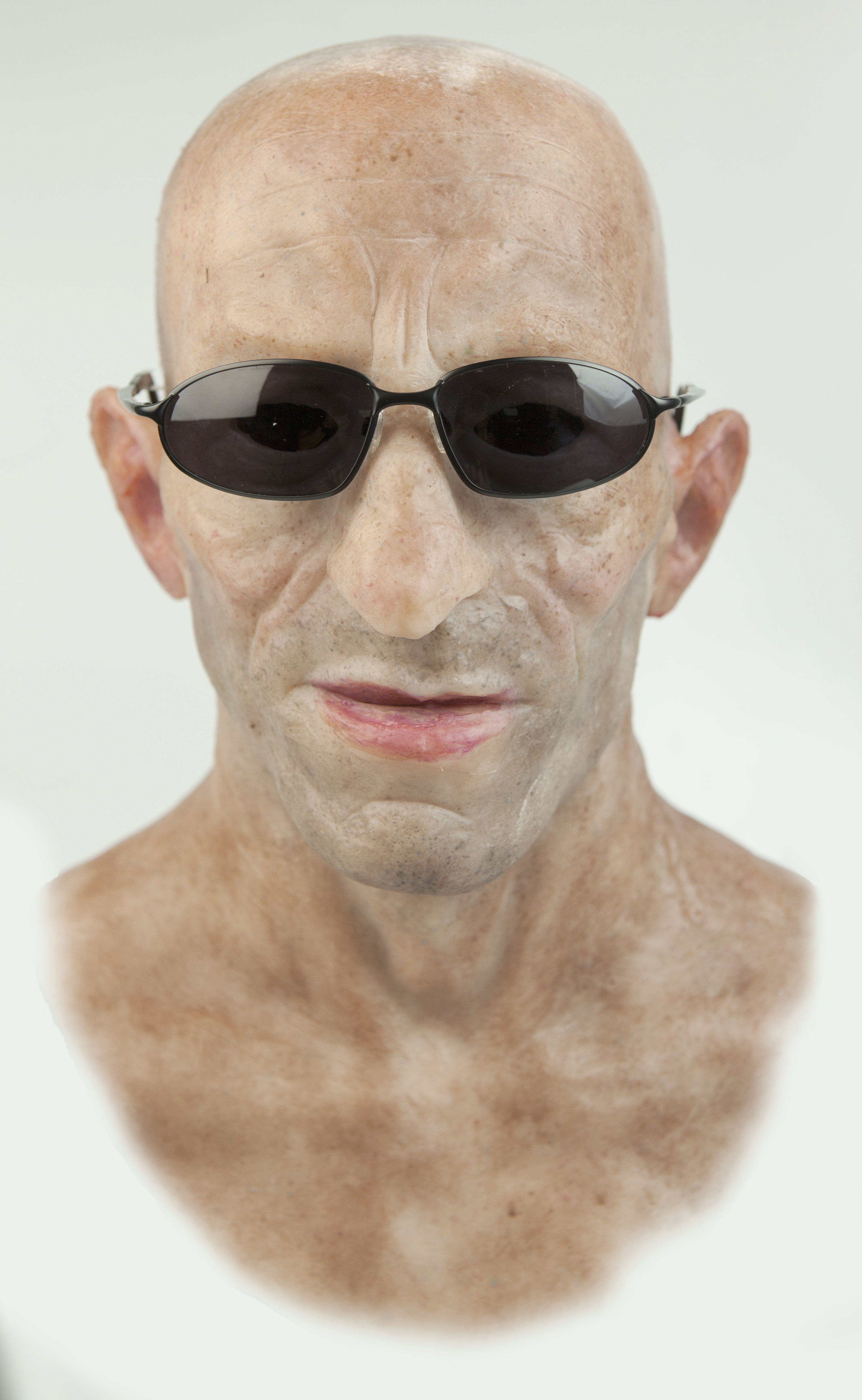 Realistic silicone masks