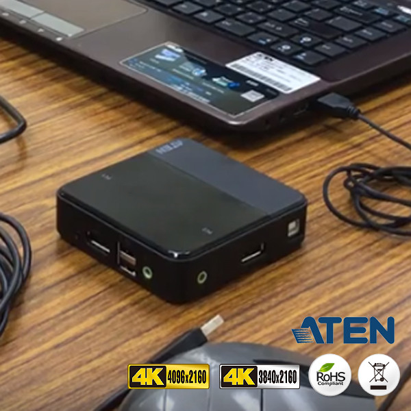 ATEN獨家專利設計 – KVMP SWITCH 多電腦切換器