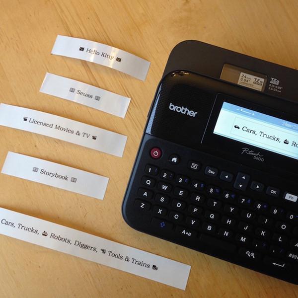 Brother PTD450 手提式及電腦連接兩用標籤機