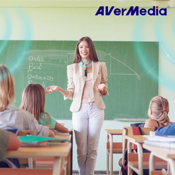 AVer Media 最新一代教學無線麥克風