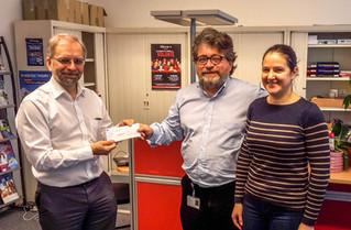Le CE Satory de Renault Trucks Défense supporte 1par1