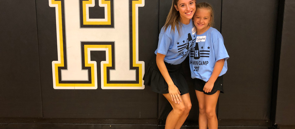 Mini Cheer Camp!