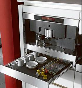 Miele coffee machine & warmer drawer