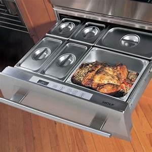 Warmer drawers