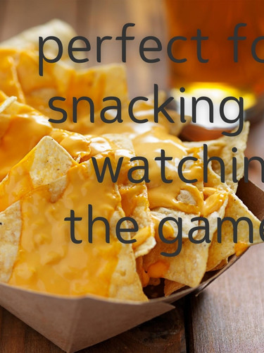 Nachos, beer, sports...perfection!