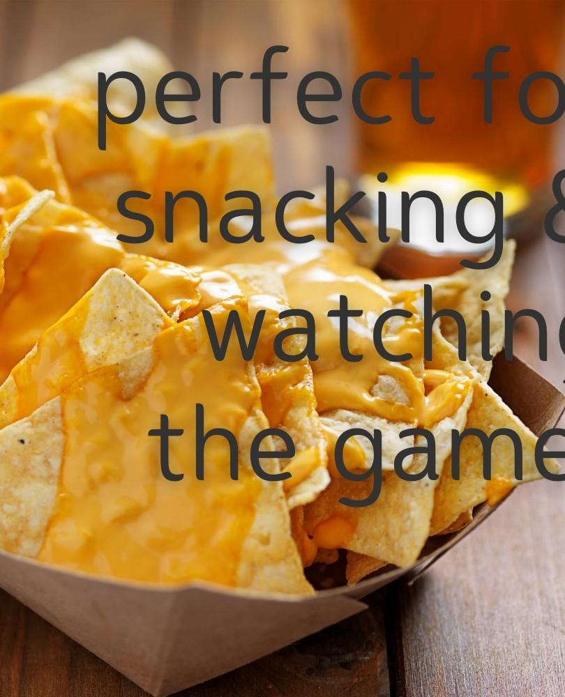 Nachos, beer, sports...perfection!