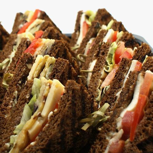 Мини-сэндвичи с овощами